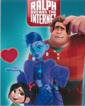 Sarah Silverman WRECK-IT RALPH Vanellope (voice) - 10 X 8 genuine signed autograph 10712